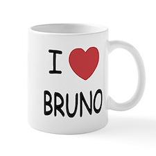 I heart bruno Mug