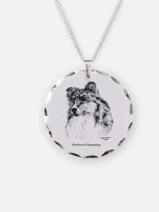 Shetland Sheepdog Necklace