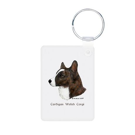 Cardigan Welsh Corgi Aluminum Photo Keychain