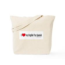 Unique English toy spaniel Tote Bag