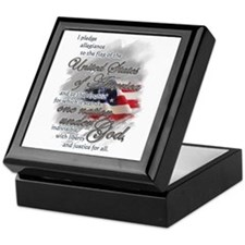 US Pledge - Keepsake Box