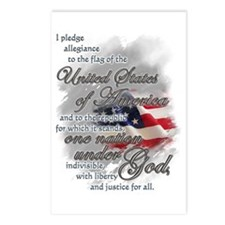 US Pledge - Postcards (Package of 8)