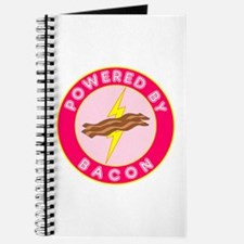 Powered By Bacon (Pink) Journal
