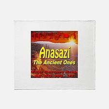 Anasazi The Ancient Ones Throw Blanket