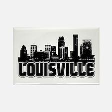 Louisville Skyline Rectangle Magnet