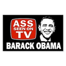 ASS Seen On TV Decal