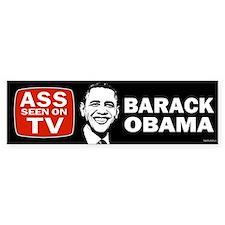ASS Seen On TV Bumper Bumper Sticker