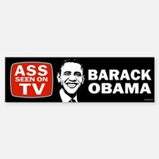 ASS Seen On TV Bumper Bumper Sticker