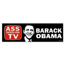 ASS Seen On TV Bumper Sticker