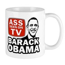 ASS Seen On TV Small Mug