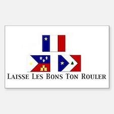 Laisse Les Bons Ton Rouler Sticker (Square)