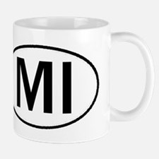 MICHIGAN OVAL STICKERS & MORE Mug