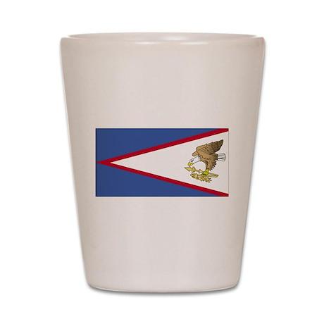 American Samoa Shot Glass