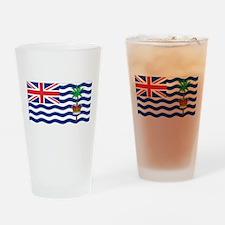 British Indian Ocean Territor Pint Glass
