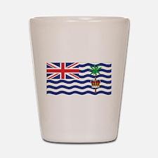 British Indian Ocean Territor Shot Glass