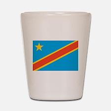 Congo, Democratic Republic of Shot Glass