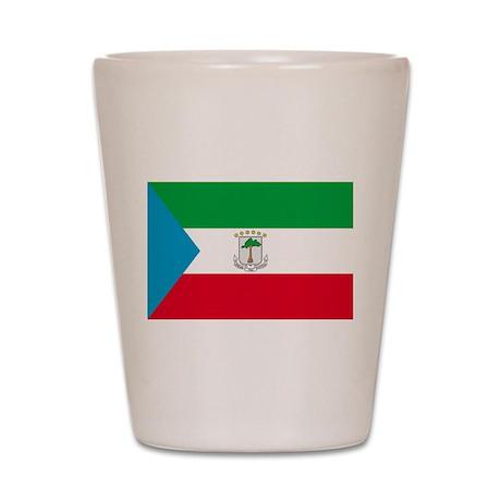 Equatorial Guinea Shot Glass