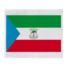Equatorial Guinea Throw Blanket