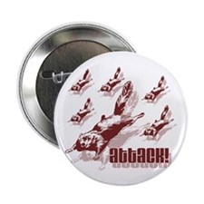 "Flying Squirrels 2.25"" Button (10 pack)"