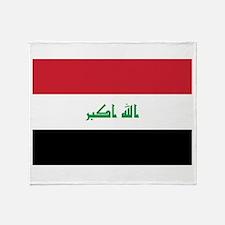 Iraq Throw Blanket