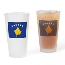 Kosovo Pint Glass