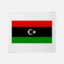 Libya Throw Blanket