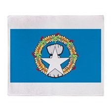 Northern Mariana Islands Throw Blanket