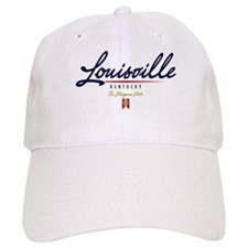 Louisville Script Baseball Cap