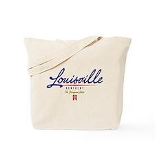 Louisville Script Tote Bag