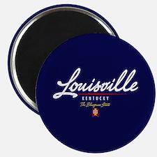 Louisville Script Magnet