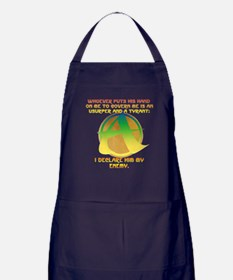The Ungovernable Force Apron (dark)