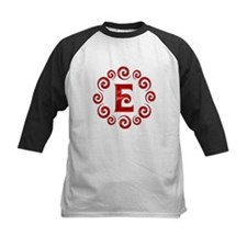 Red E Monogram Tee