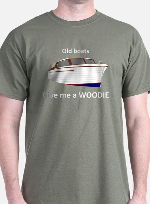 """""""Give me a Woodie"""" dark t-shirt"""