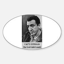 Caryl Chessman Decal