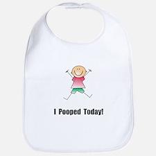 I Pooped Today! Bib