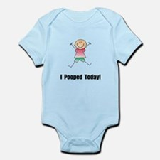 I Pooped Today! Infant Bodysuit