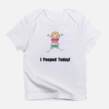 I Pooped Today! Infant T-Shirt