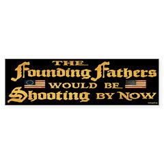 Founding Fathers Shooting Sticker (Bumper 50 pk)