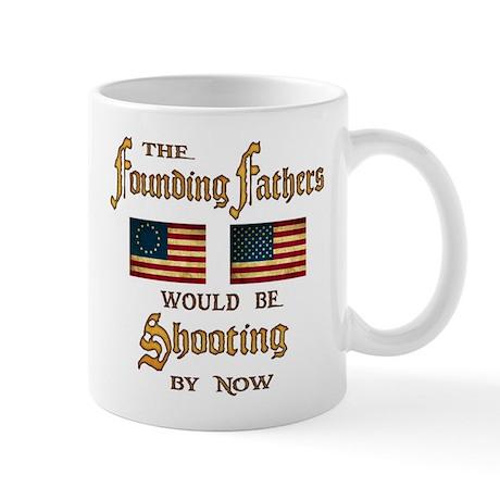 Founding Fathers Shooting Mug
