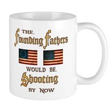 Founding Fathers Shooting Small Mug