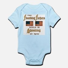 Founding Fathers Shooting Infant Bodysuit