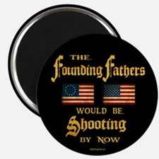 "Founding Fathers Shooting 2.25"" Magnet (10 pack)"