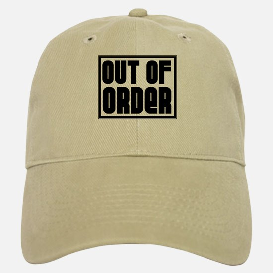 OUT OF ORDER Baseball Baseball Cap