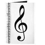 G Clef / Treble Clef Symbol Journal