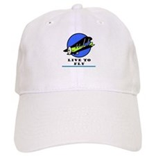 Live to Fly Baseball Cap