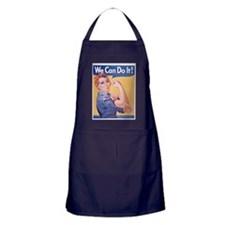 Cute The force is strong Apron (dark)