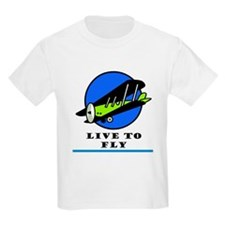 Live to Fly Kids T-Shirt