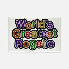 World's Greatest Rogelio Rectangle Magnet