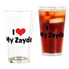 I Love My Zayde Pint Glass