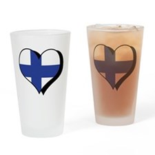 I Love Finland Pint Glass